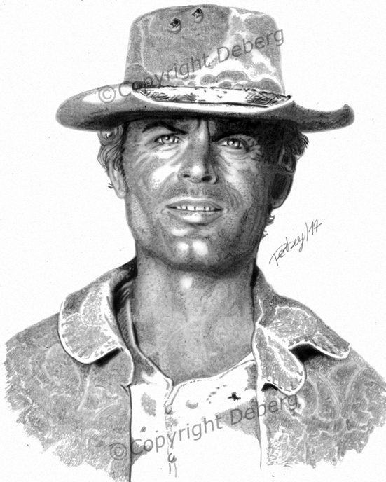 Terence Hill by Deberg